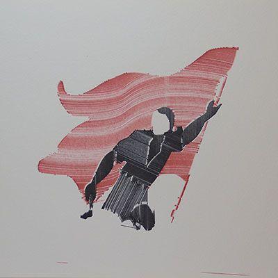 Rojo, negro y blanco (bandera)