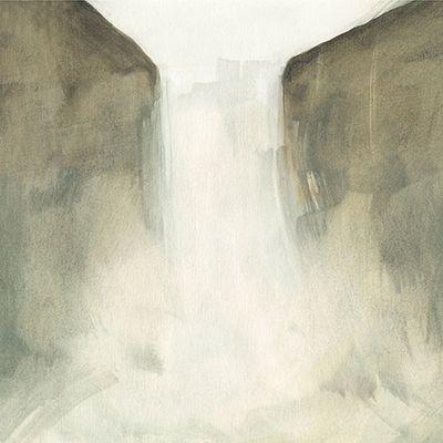"""Cascada. De la serie """"Bajo la superficie"""""""