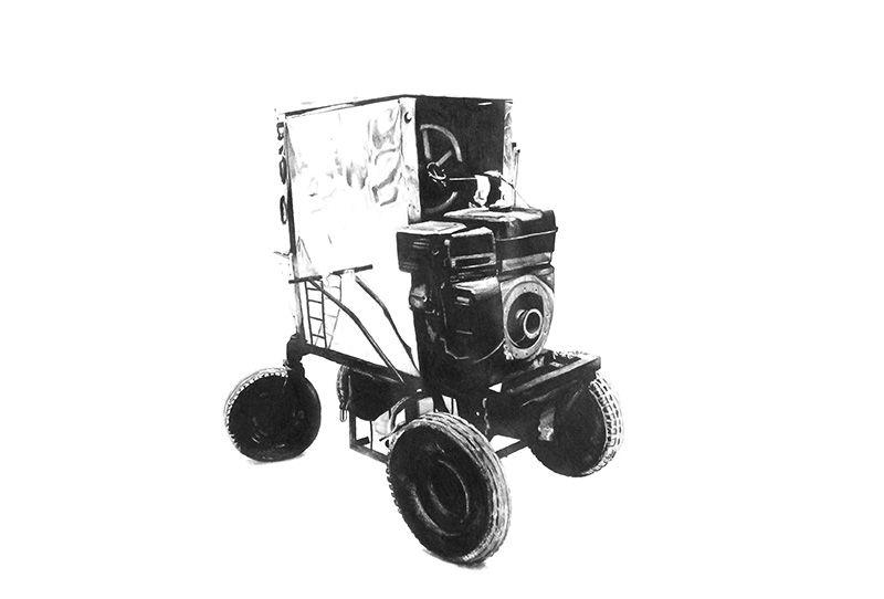 Rebusque - Máquina de helado