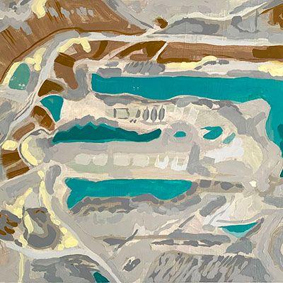 Alteraciones del paisaje No.23 (Explotación Minera Drummond - Chiriguana, Dto. del Cesar)