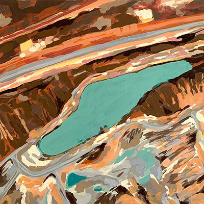 Alteraciones del paisaje No.25 (Explotación Minera Drummond - Chiriguana, Dto. del Cesar)