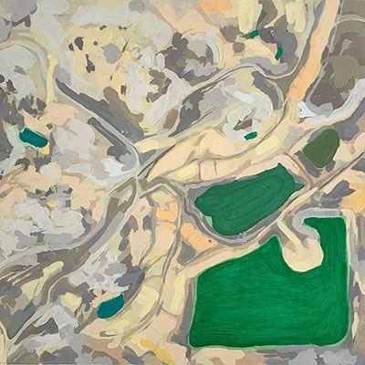 Alteraciones del paisaje No.27 (Explotación Minera Drummond – Chiriguana, Dto. del Cesar )