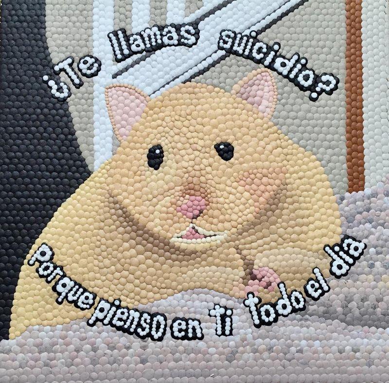 """¿Te llamas suicidio? De la serie: """"piratería sentimental de animalitos para la depresión"""""""