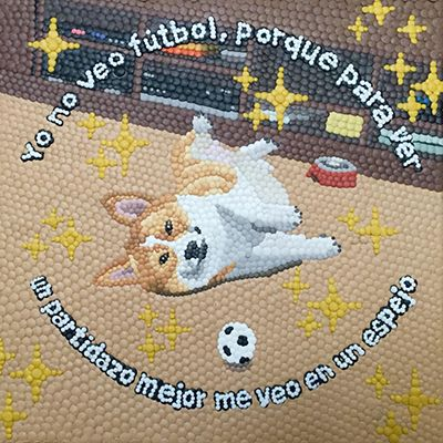 """Yo no veo fútbol. De la serie: """"piratería sentimental de animalitos para la depresión"""""""